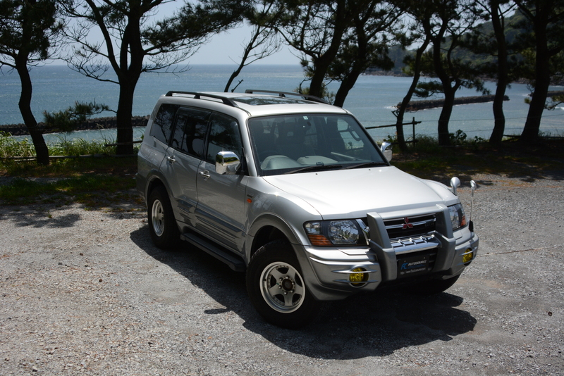2002 Mitsubishi Pajero Exceed Long Sunroof Super Select 4wd 3.5L GDI engine!