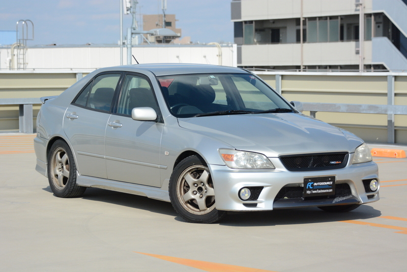 TRD Altezza 6spd BEAMS engine
