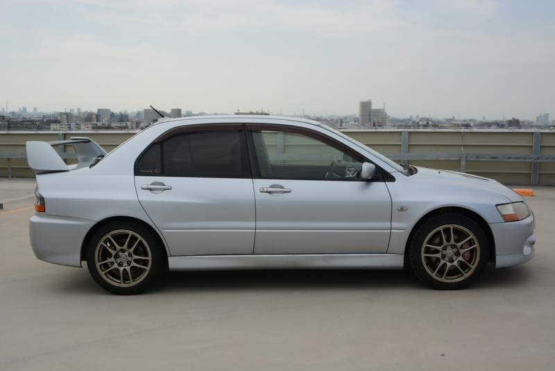 Evolution IX GSR in Silver! Mivec 6spd!